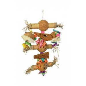 PREVUE PET PRODUCTS 48081624746 Bodacious Bites Bamboo Shoots Bird Toy