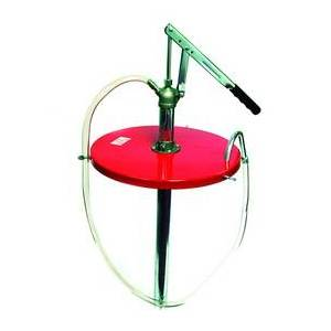 DenDesigns 16 gal Gear Lube Pump with Meter & Fittings for Drum