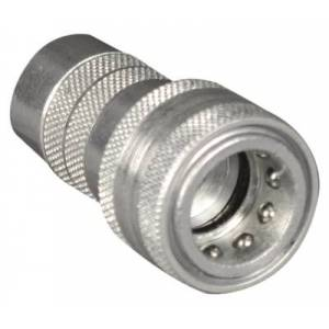 APACHE HOSE & BELTING 210172 0.5 in. Hydraulic 1 Way Sleeve with Ball Valve Coupler