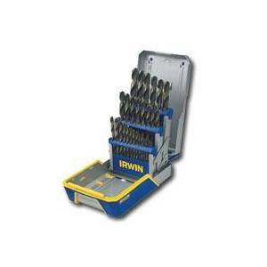 IRWIN TOOLS HANSON IRWIN 3018005 29 Piece Black And Gold Drill Bit Set