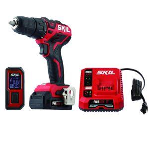 Skill Skil 2004129 12V PWRCore 12 Cordless Brushless 2 Tool Drill Driver & Laser Measure Kit