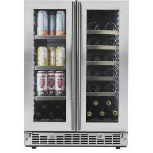 Silhouette SPRBC047D1SS Dual Zone French Door Beverage Center