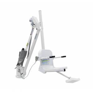 Aqua Creek Products F-MTY600-W 600 lbs Mighty 600 Lift without Anchor, White with White Seat