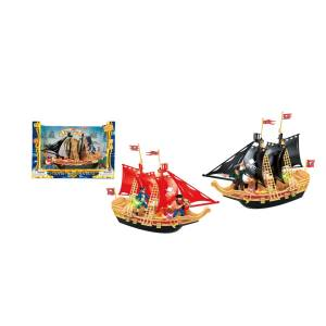 Pirates Adventures 2322496 B&O Pirate Ship Play Set with Light & Sound - Case of 16