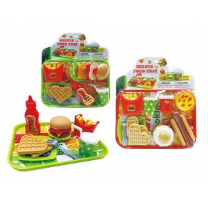 Deluxe Food Play 2322482 DDI Play Set, 2 Assorted Color - Case of 36
