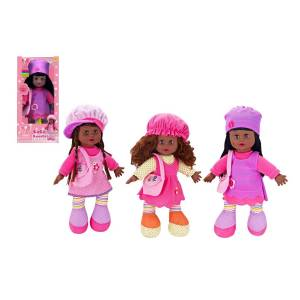 DDI 2339854 Coco Cuddles Baby Doll with Battery Operated Sound - Assorted Case of 18