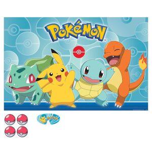 Amscan 30373670 Catch Pikachu Pokemon Party Game