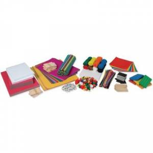 PACON CORPORATION Pacon PAC1001002 18 in. Makerspace Beginners Kit, Assorted Color