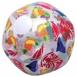 US Toy Company US Toy HL359 16-12 in. dia. Inflates Luau Ball for Kids