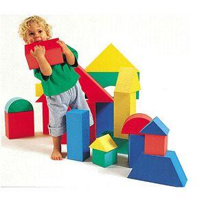 Edushape Eds700145 Giant Blocks 16-Pk-4-1/3 Thick