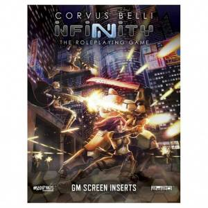 Modiphius Entertainment MUH050231 Infinity GM Screen