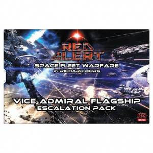 The Plastic Soldier PSCRED002 Red Alert Vice Admiral Flagship Escalation Game Pack