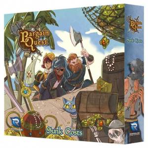 Renegade Game Studios REN2141 Bargain Quest - Sunken Costs Expansion Board Game