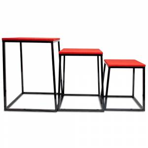 Brybelly SFIT-1504 24 - 30 & 36 Plyometric Boxes Set of - 3