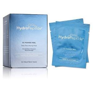 HydroPeptide 5X POWER PEEL - Daily Resurfacing Pads TARGETED SOLUTIONS (0.05 fl oz / 1.4 ml x 30 pads)