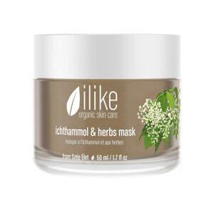 ilike organic skincare ichthammol & herbs mask (50 ml / 1.7 fl oz)