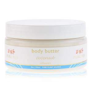 Pure Fiji body butter - coconut (8.0 oz / 236 ml)