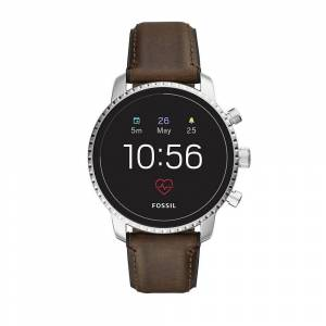 Fossil Gen 4 Explorist Leather Smartwatch - Fossil
