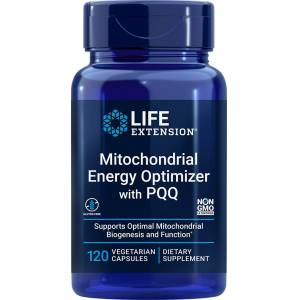 Life Extension Mitochondrial Energy Optimizer with PQQ (120 Capsules, Vegetarian)