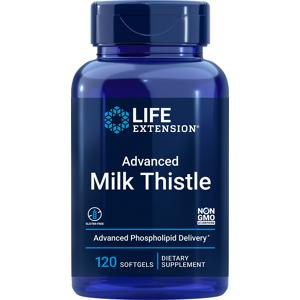 Life Extension European Milk Thistle (120 Softgels)
