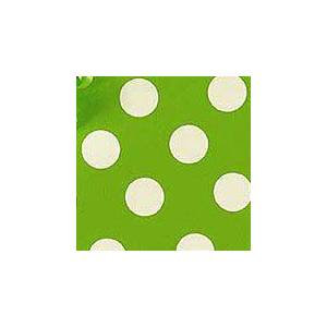 Paper Mart Lime Green Sunny Dots Gift Wrap - 24 X 417' - Gift Wrapping Paper - Type: Colored Ink On 40# White Paper by Paper Mart