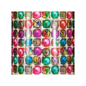Paper Mart #m5605 Sparkling Christmas Ball - Gift Wrap - 30 X 833' - - Gift Wrapping Paper by Paper Mart