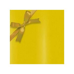 Paper Mart #g5004 Canary - Gift Wrap Colored - 26 X 833' - - Gift Wrapping Paper by Paper Mart