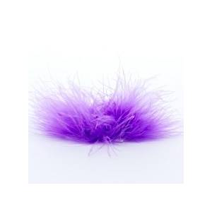 Paper Mart Wisteria Feather Boa Sticky Tab Fabric Cloth Diameter - 2 - Quantity: 50 - Cords by Paper Mart