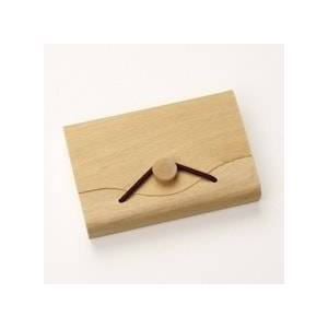 Paper Mart Shallow Natural Bent Wood Box - 4-1/8 X 2-3/4 X 3/4 - Poplar Wood - Quantity: 20 - Packaging by Paper Mart