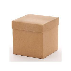 Paper Mart Kraft Heavy Wall Gift Box Bottom - 10 X 10 X 9 - Cardboard - Quantity: 50 - High Wall Boxes by Paper Mart