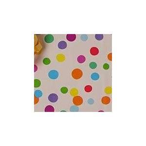 Paper Mart Ditty Dots Gift Wrap - 24 X 417' - Gift Wrapping Paper - Type: Colored Ink On 50# Glossy Paper by Paper Mart