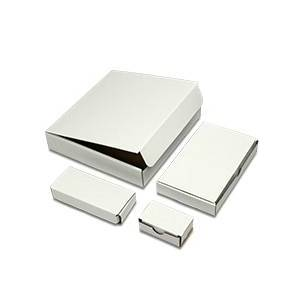 Paper Mart White Tuck Top Boxes - 6 X 2-1/2 X 1 - Cardboard - Quantity: 100 - Die Cut Boxes by Paper Mart
