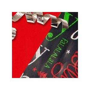 Paper Mart Tis The Season/Reversible Gift Wrap - 24 X 417' - Gift Wrapping Paper by Paper Mart