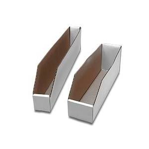 Paper Mart Bin Corrugated Bin Box - 12 X 10 X 4-1/2 - Quantity: 50 - Storage Boxes by Paper Mart