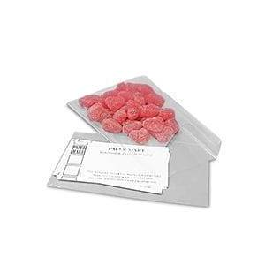 Paper Mart Clear Flat FDA Approved Cello Bags - 5-7/8 X 7-1/4 - Polypropylene / Cellophane - 1.2 mil thick - Quantity: 1000 by Paper Mart
