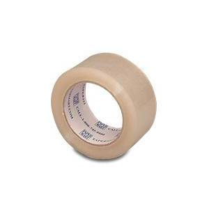 """Paper Mart Clear Shipping Tape yard 2.5mil - 2"""" X 60 - Propylene Plastic - Carton Sealing Tape - Milthick : 2.5 by Paper Mart"""