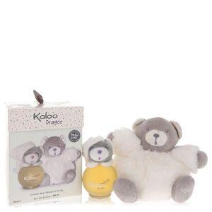 Kaloo Dragee Cologne 3.2 oz Eau De Senteur Spray (Alcohol Free) + Free Fluffy Bear for Men