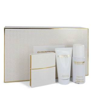 Elizabeth And James Nirvana White for Women, Gift Set (1 oz EDP Spray + 1.7 oz Body Lotion + 1.3 oz Dry Shampoo)