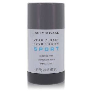 Issey Miyake L'eau D'issey Pour Homme Sport Deodorant 2.6 oz Alcohol Free Deodorant Stick for Men