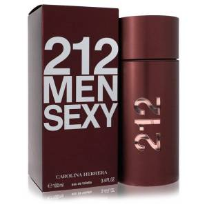 Carolina Herrera 212 Sexy Cologne by Carolina Herrera 3.3 oz EDT Spay for Men