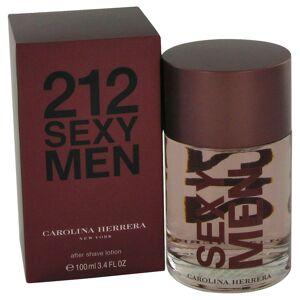 Carolina Herrera 212 Sexy After Shave by Carolina Herrera 3.3 oz After Shave for Men