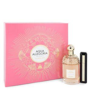 Guerlain Aqua Allegoria Pera Granita for Women, Gift Set (4.2 oz EDT Spray + 0.28 oz  Intense Volume  Deep Black Mascara)