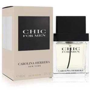 Carolina Herrera Chic Cologne by Carolina Herrera 2 oz EDT Spray for Men