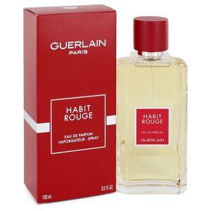 Guerlain Habit Rouge Cologne by Guerlain 3.3 oz EDP Spray for Men