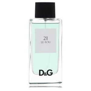 Dolce & Gabbana Le Fou 21 Cologne by Dolce & Gabbana 3.3 oz EDT Spray(Tester) for Men