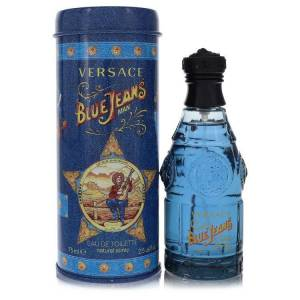 Versace Blue Jeans Cologne 2.5 oz EDT Spray (New Packaging) for Men