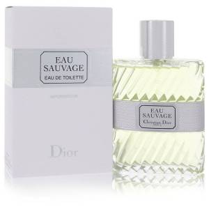 Christian Dior Eau Sauvage Cologne by Christian Dior 3.4 oz EDT Spay for Men