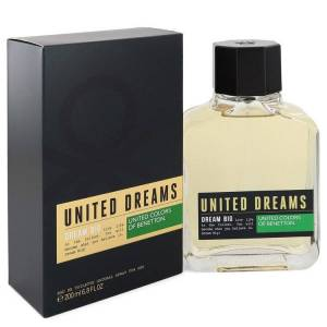 Benetton United Dreams Dream Big Cologne by Benetton 6.8 oz EDT Spay for Men