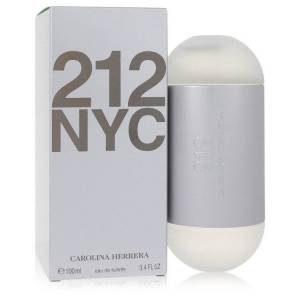 Carolina Herrera 212 Perfume 3.4 oz EDT Spray (New Packaging) for Women