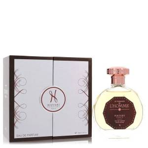 Hayari Le Paradis De L'homme Cologne by Hayari 3.4 oz EDP Spay for Men